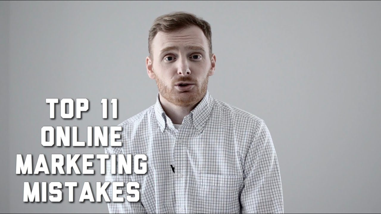 11 Mistakes in Marketing