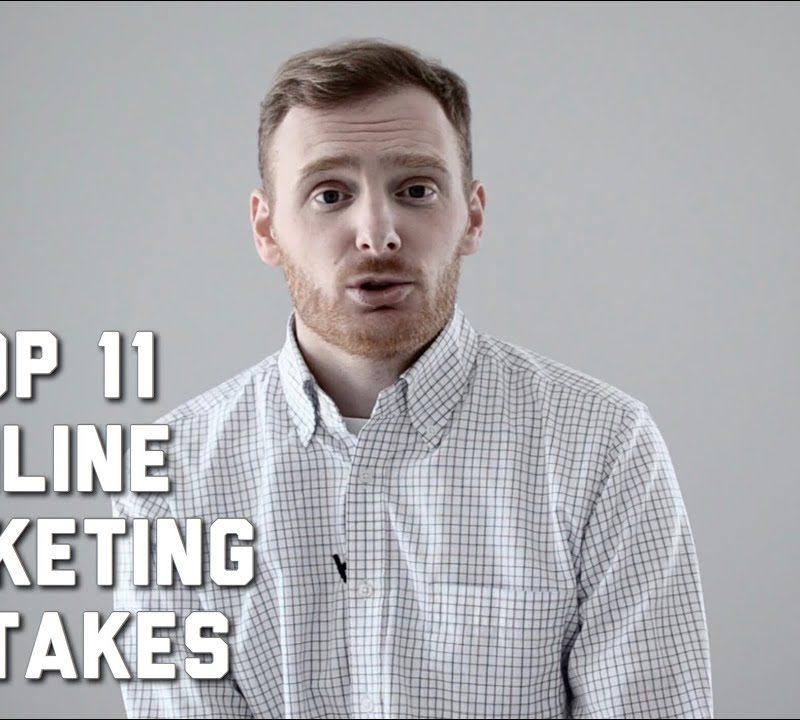The most common mistakes in online marketing